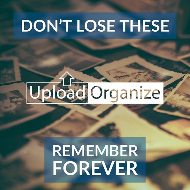 So this is a thing I do. — Never worry about losing memories. We scan and upload your photos to save them forever!  To book an appointment visit: facebook.com/UploadAndOrganize  Or email:  UploadAndOrganize@gmail.com
