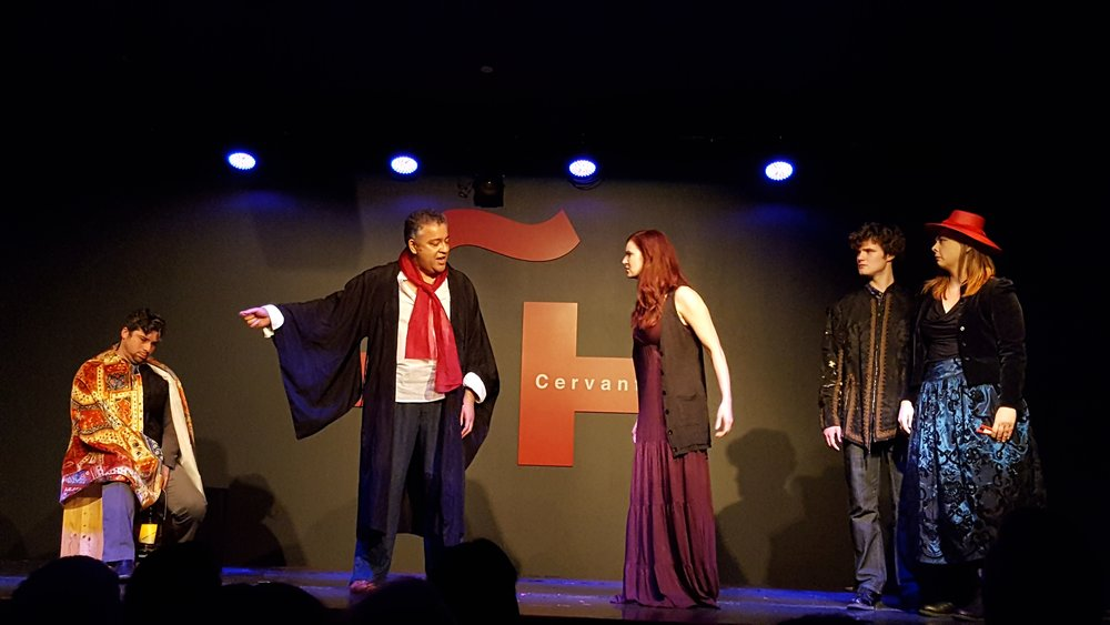 Six Author in Search of a Character Photo Gallery    Six Author in Search of a Character   was performed on May 26, 2017, at the   Instituto Cervantes .