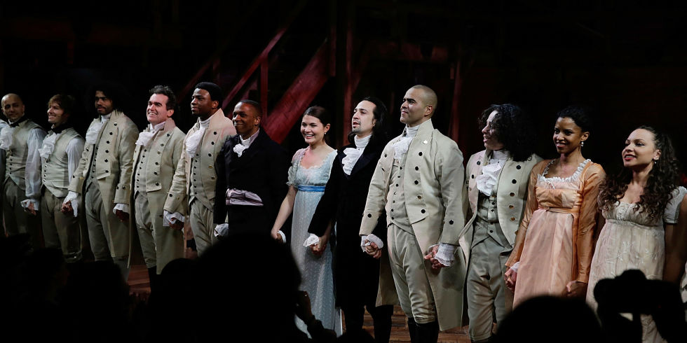 How the Cast of  Hamilton  Made Philanthropy Their Mission