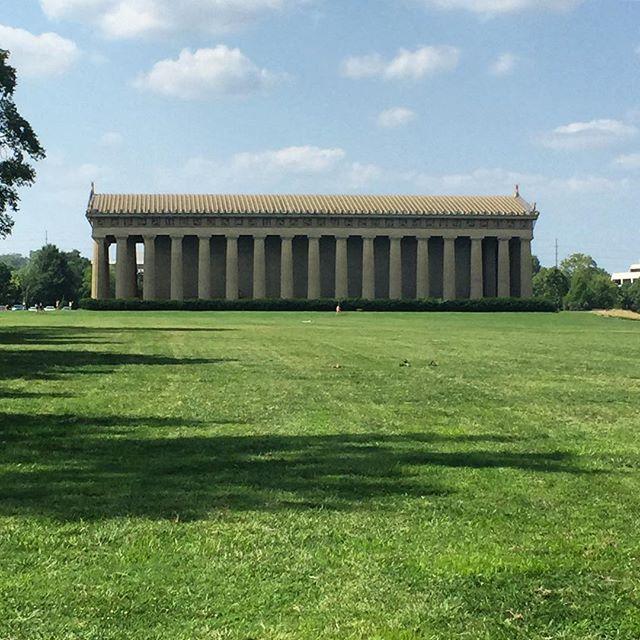 Spending the day in Centennial Park!