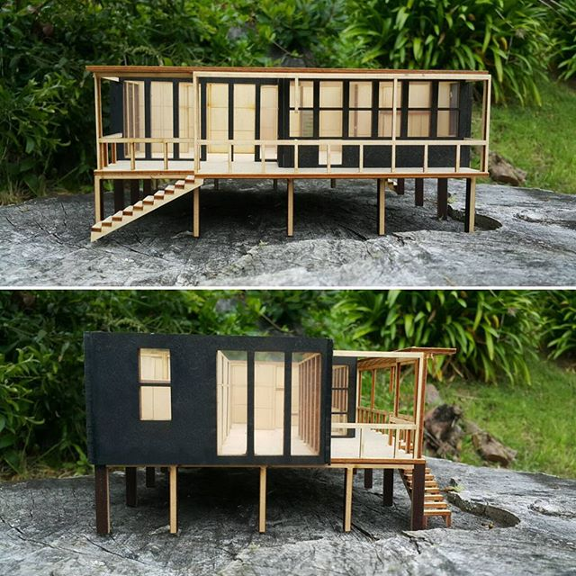 Climate Safe House Project model 🏡  #scalemodel #model #3dmodel #architecture #spatialdesign #interiordesign #design #suistainable #dunedin #newzealand