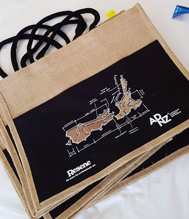 The bag with the graphic I designed for the  @architectural_designersnz national conference this year!  #adnz #resene