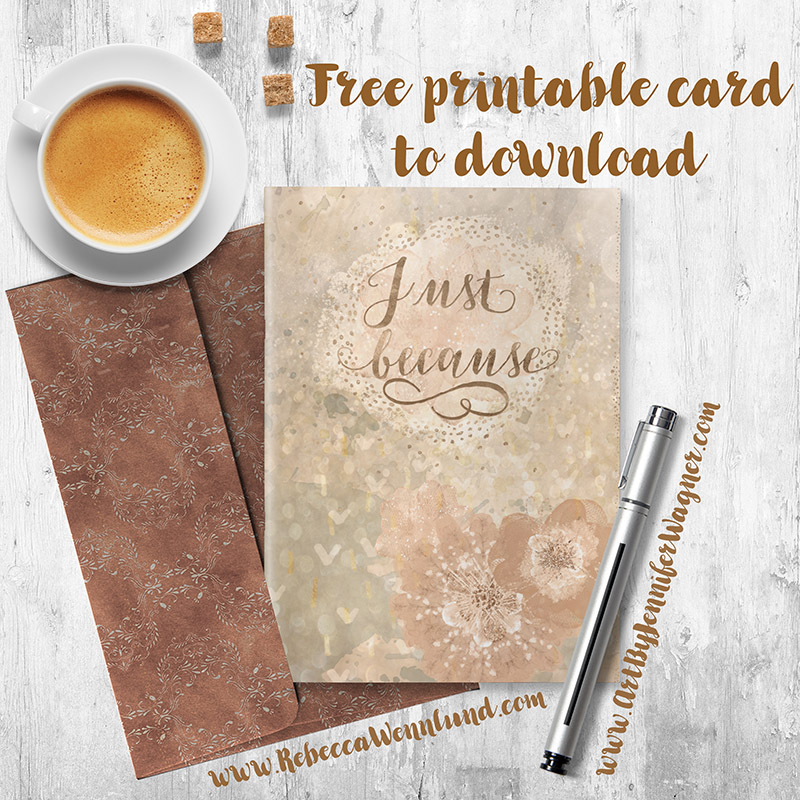 Another Free Downloadable Greeting Card Rebecca Wennlund S