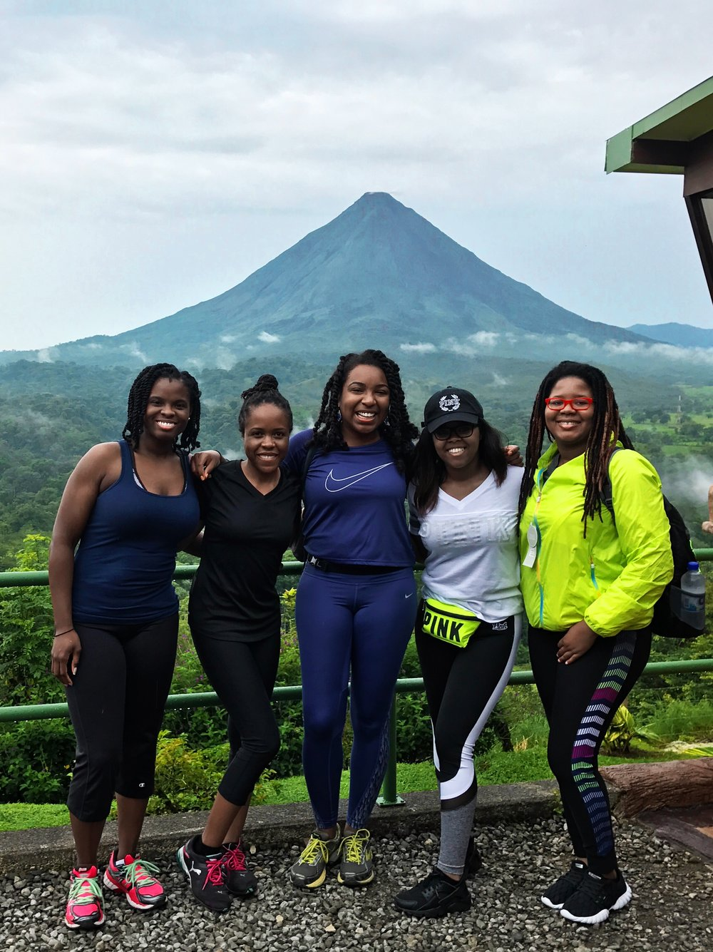black-women-hiking-costa-rica-arenal-volcano