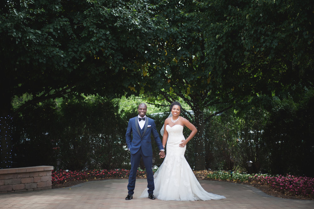 african-american-married-couple-bride-groom-wedding