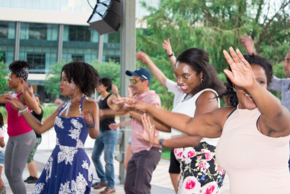 black-women-salsa-dancing