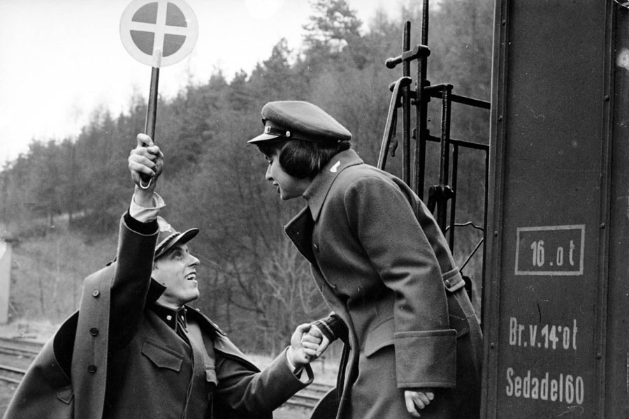 Closely Watched Trains , 1966. Directed by Jiří Menzel.