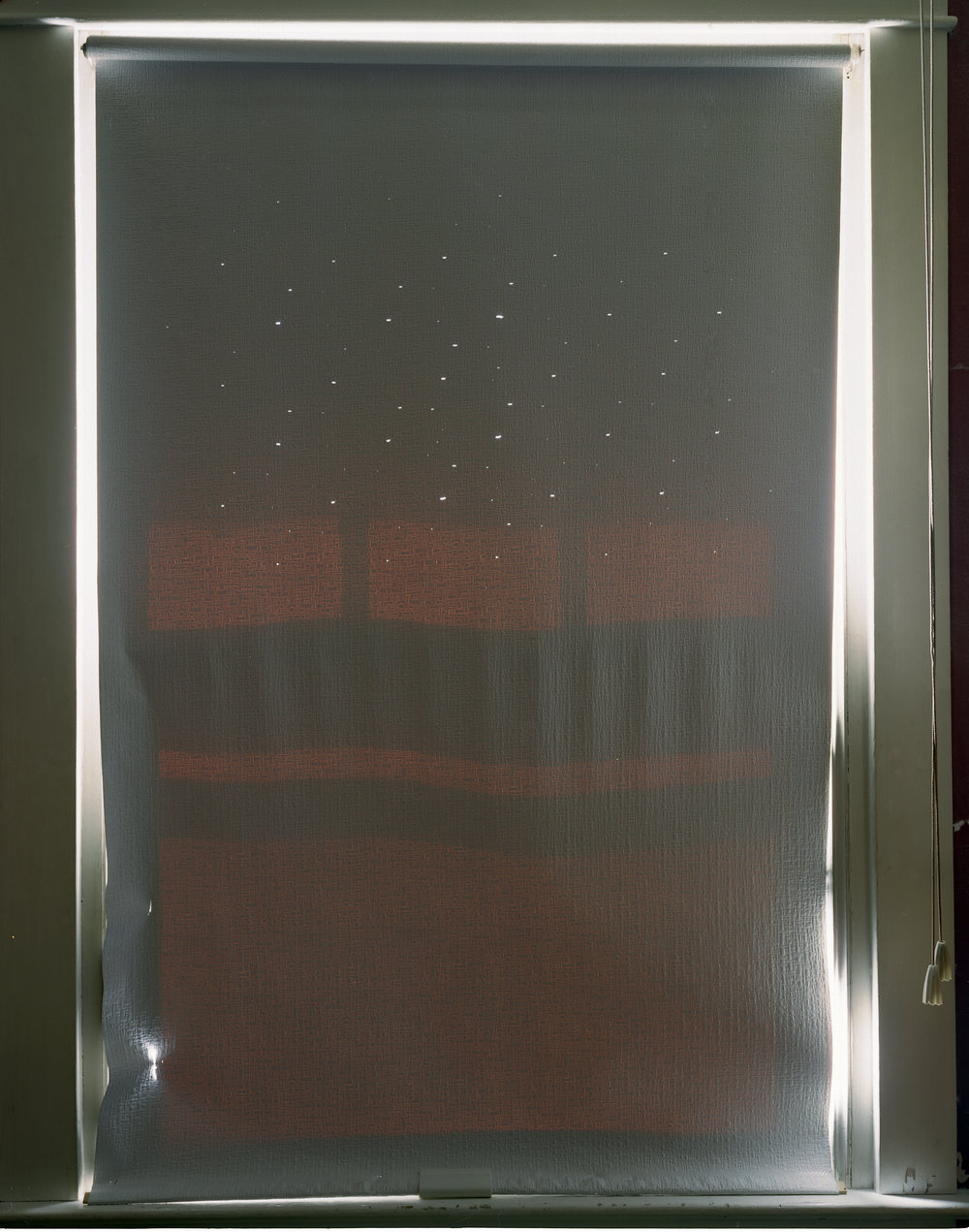 Window shade, PA, 2007