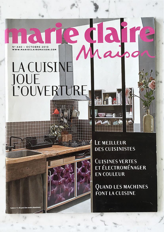 Marie-Claire Maison N°440 Oct 2010 Supplément cuisine