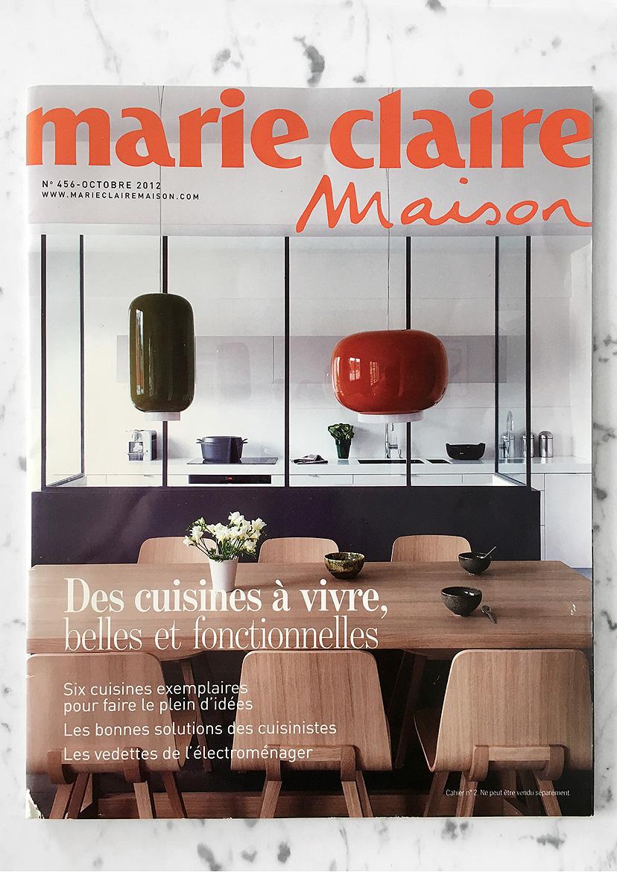 Marie-Claire Maison N°456 Oct 2012 Supplément cuisine