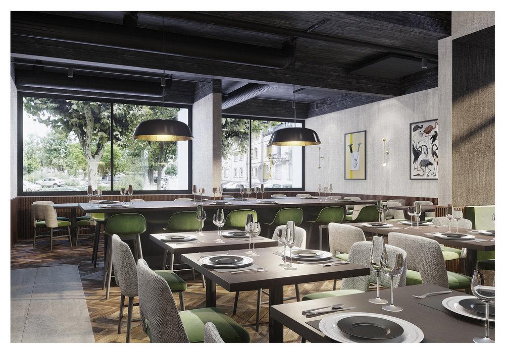 Stork restaurant Hôtel Vaillant Sélestat, France 2018