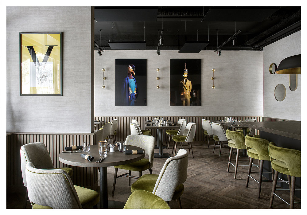 Stork restaurant Hôtel Vaillant Sélestat, France 2019
