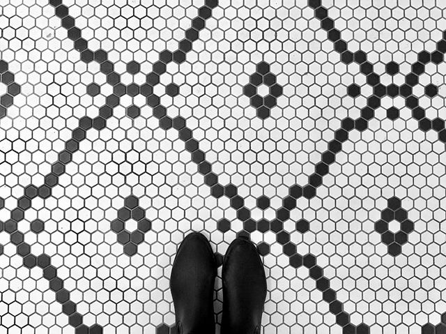 be bold 👊🏻 what do you think of our master ensuite floor tile selection? #ihavethisthingwithfloors #keswickdesigninspo