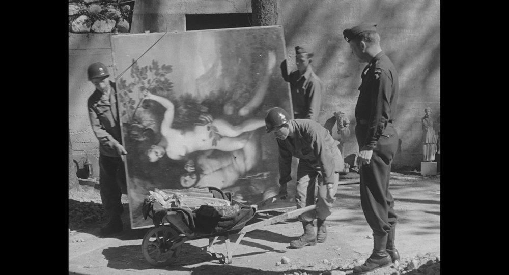 Berchtesgaden liberation and recovery of the Goering collection by the 101st Aiirbone Division. Courtesy of National Archives & Records Administration_b.jpg