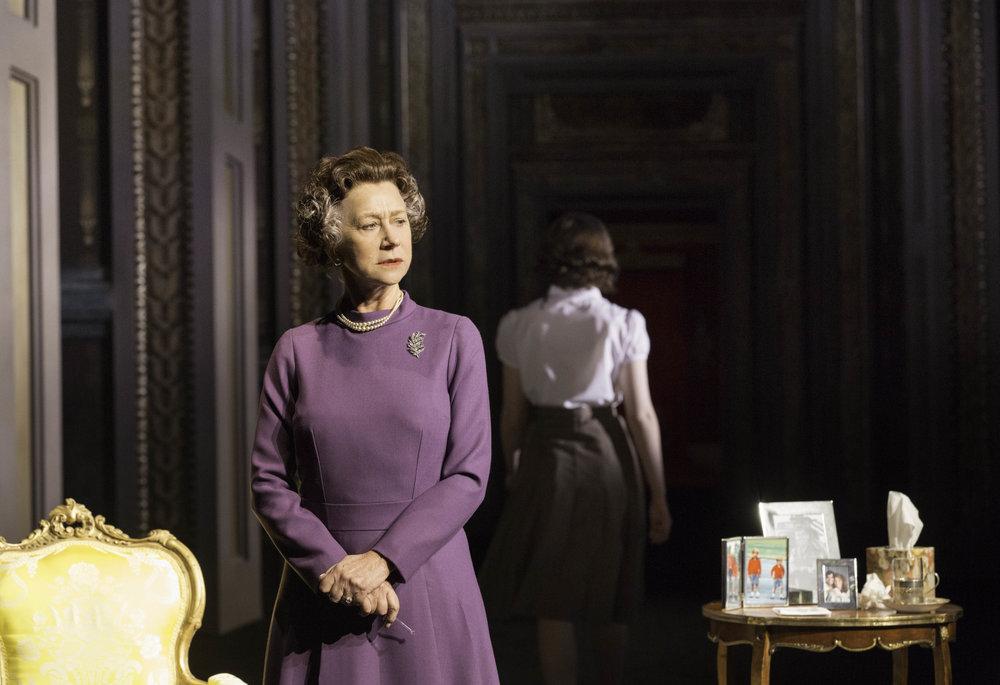 NTL 2019 The Audience - Queen Elizabeth II (Helen Mirren) 2. Photo by Johann Persson.jpg