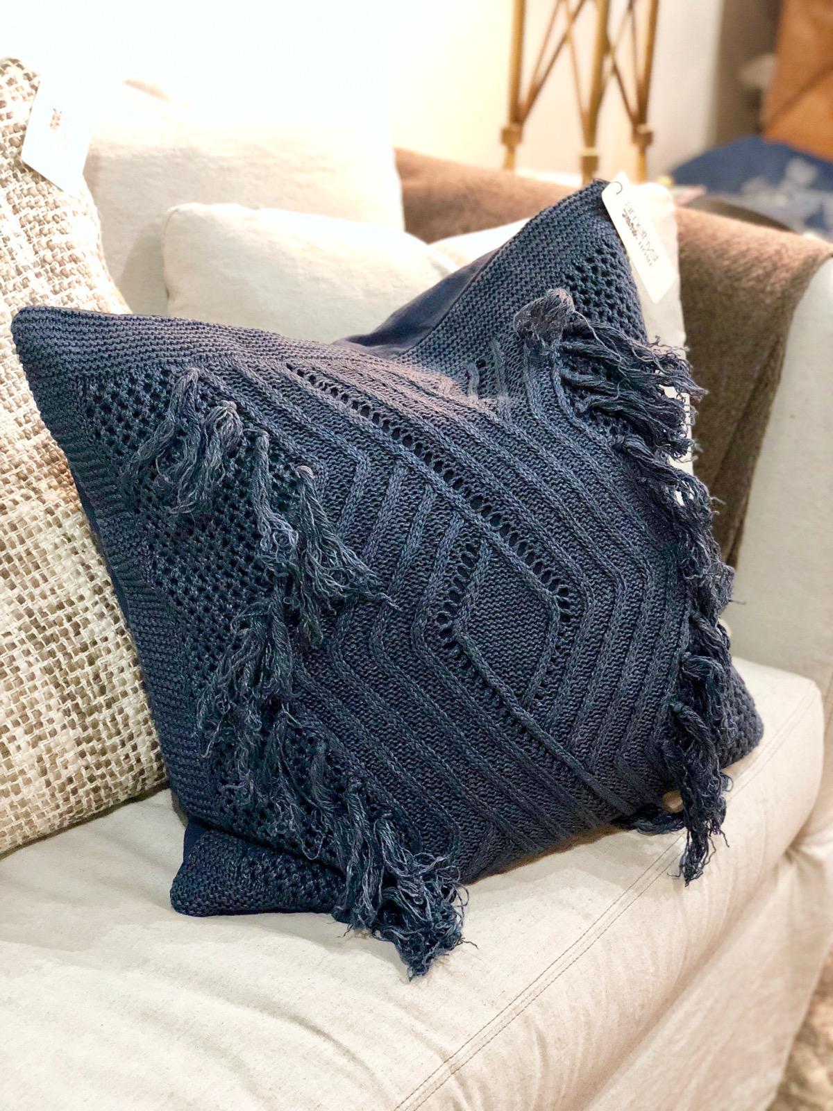 navy-fringe-pillow-omaha-nebraska-blue-tassel
