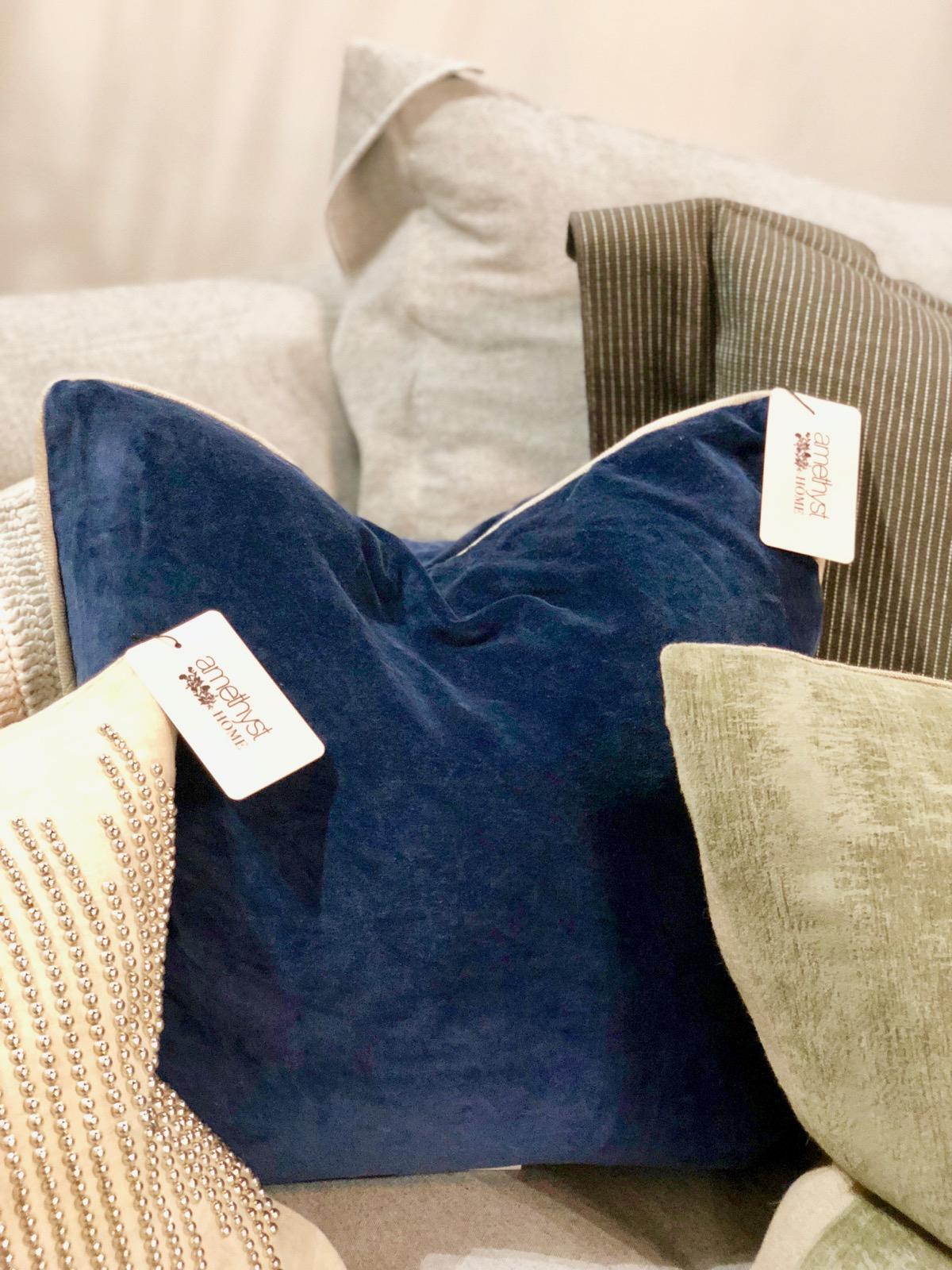 blue-velvet-navy-pillow-omaha-nebraska-shop-down-amethyst-home