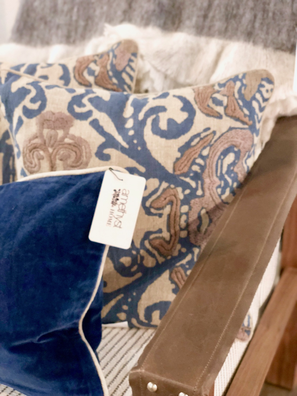 blue-taupe-embroidered-pillow-tan-omaha-nebraska-amethyst-home