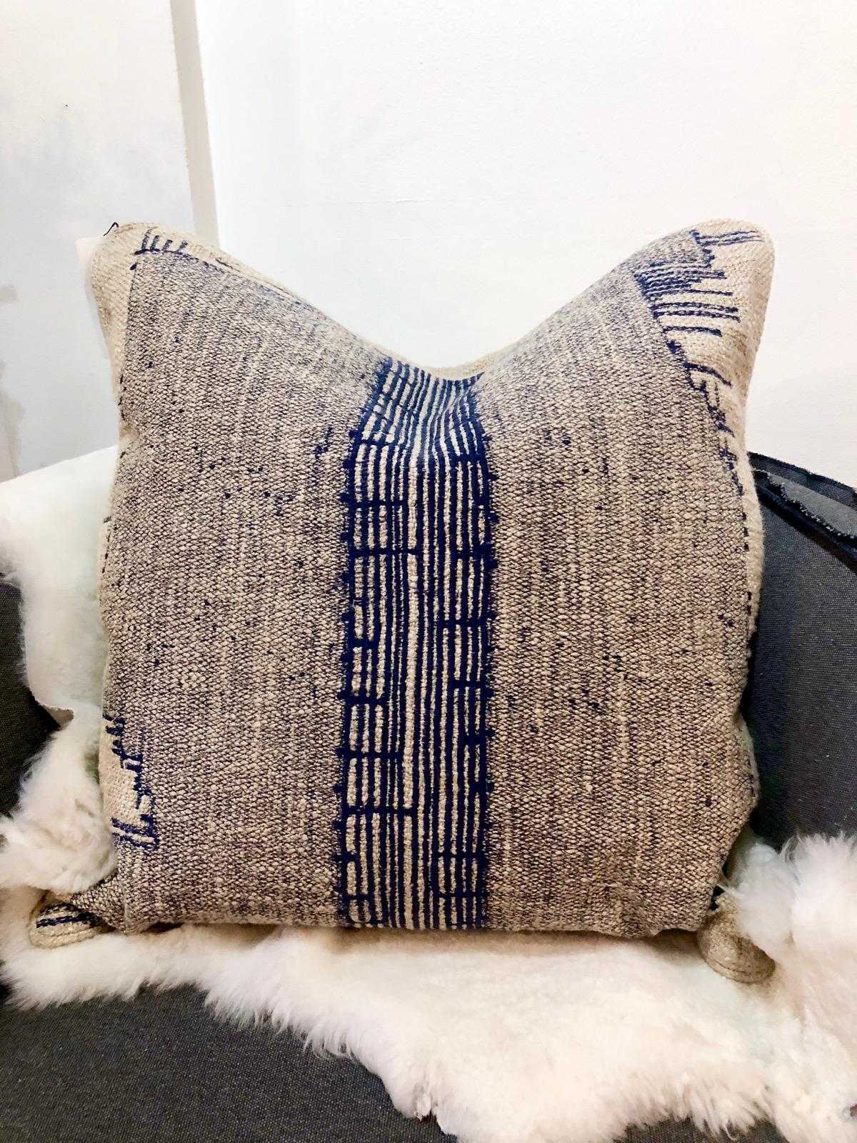 blue-embroidered-linen-pillow-omaha-nebraska-amethyst