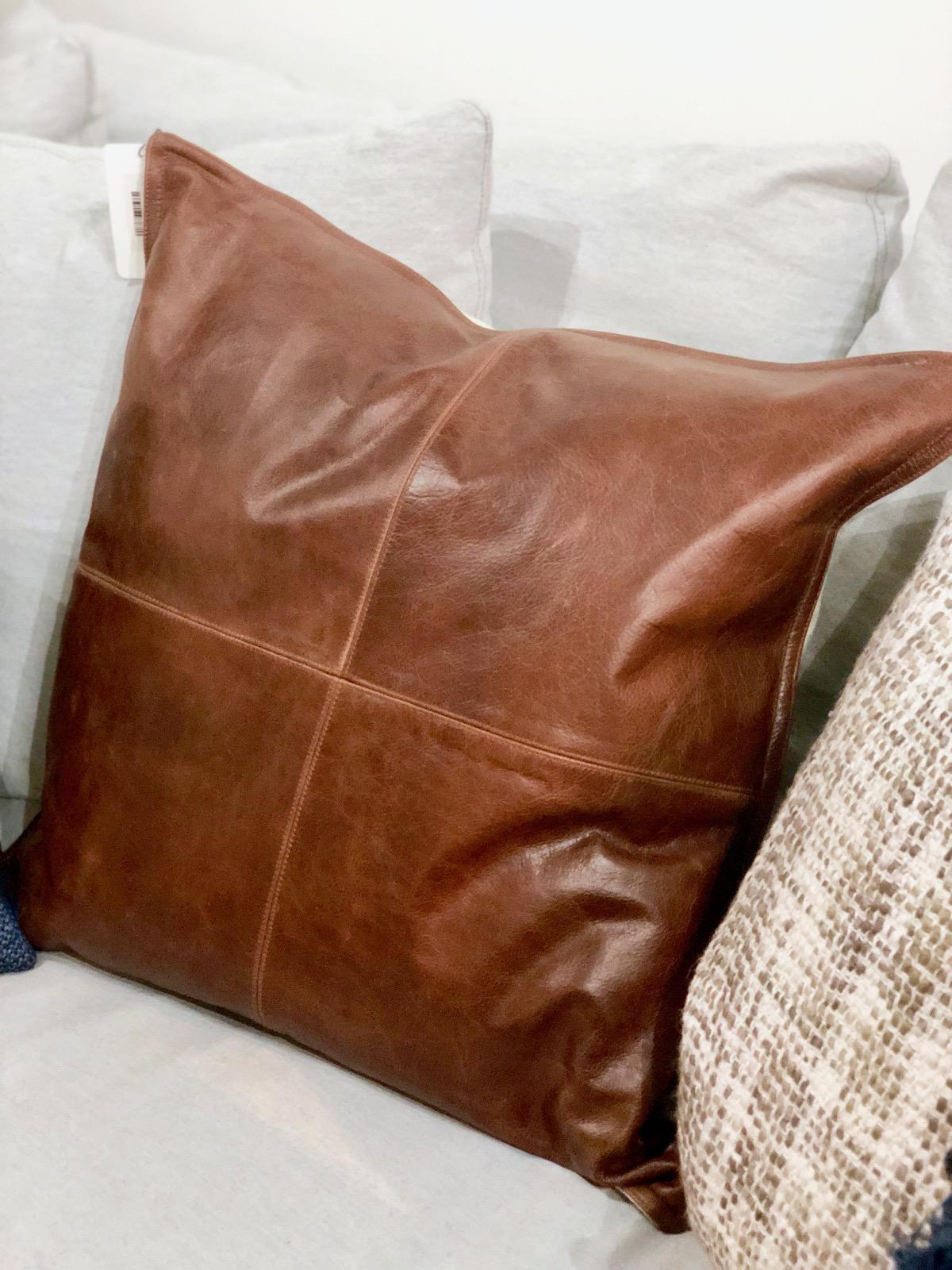 leather-pillow-omaha-nebraska-amethyst-home