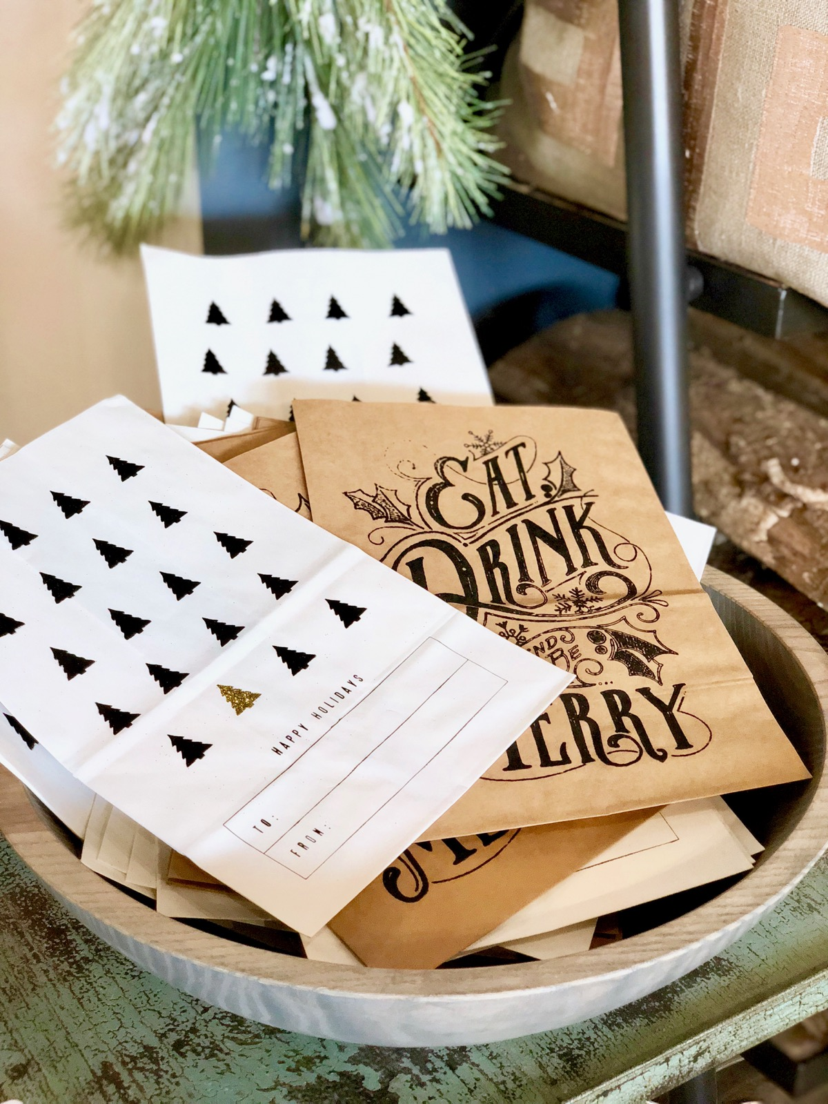 Assorted Paper Gift Sacks {$2.60 each}