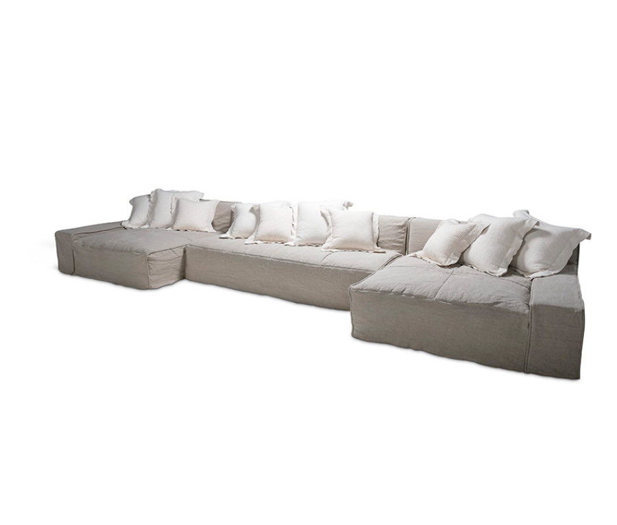 Esme Sectional by Verellen | As shown with XL chaises and condo sofa: Starting at $14,787.00.  More options available.