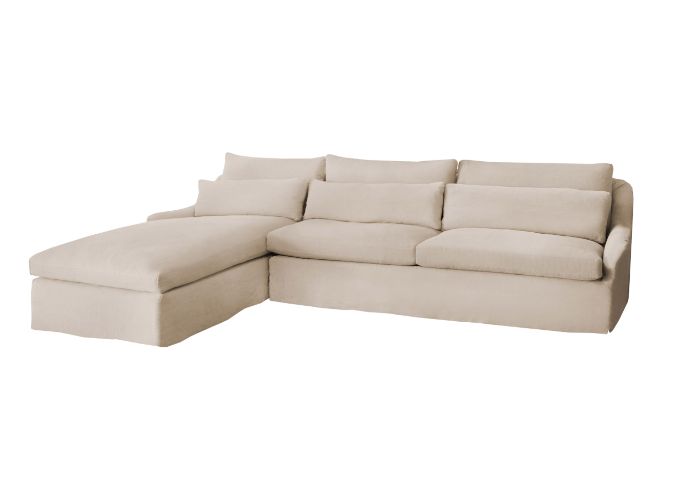 Genevieve LAF Sectional by Cisco Brothers | As shown: Starting at $8,340.00. More options available.
