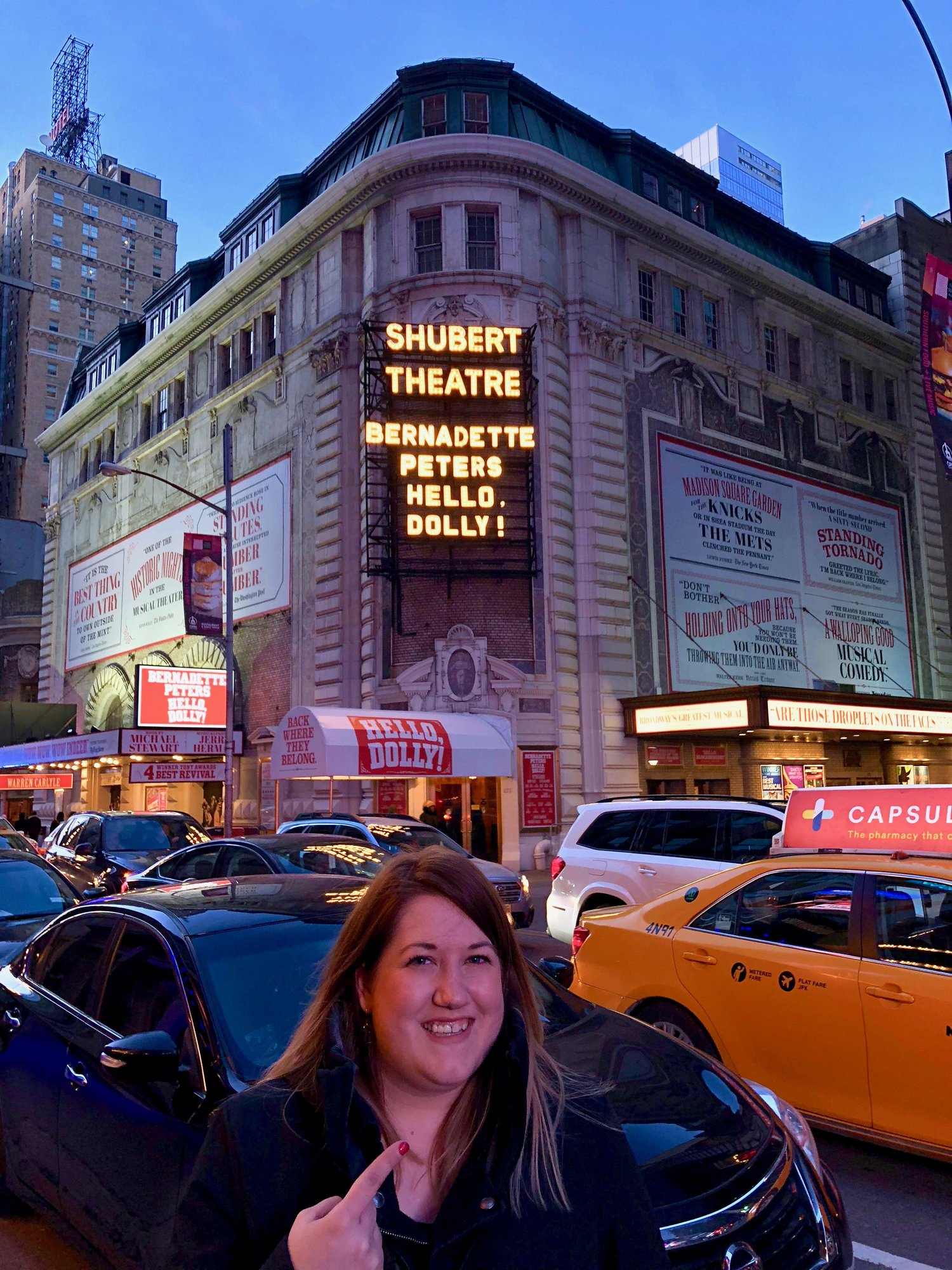 So thrilled to see Bernadette Peters on Broadway...she was fabulous!