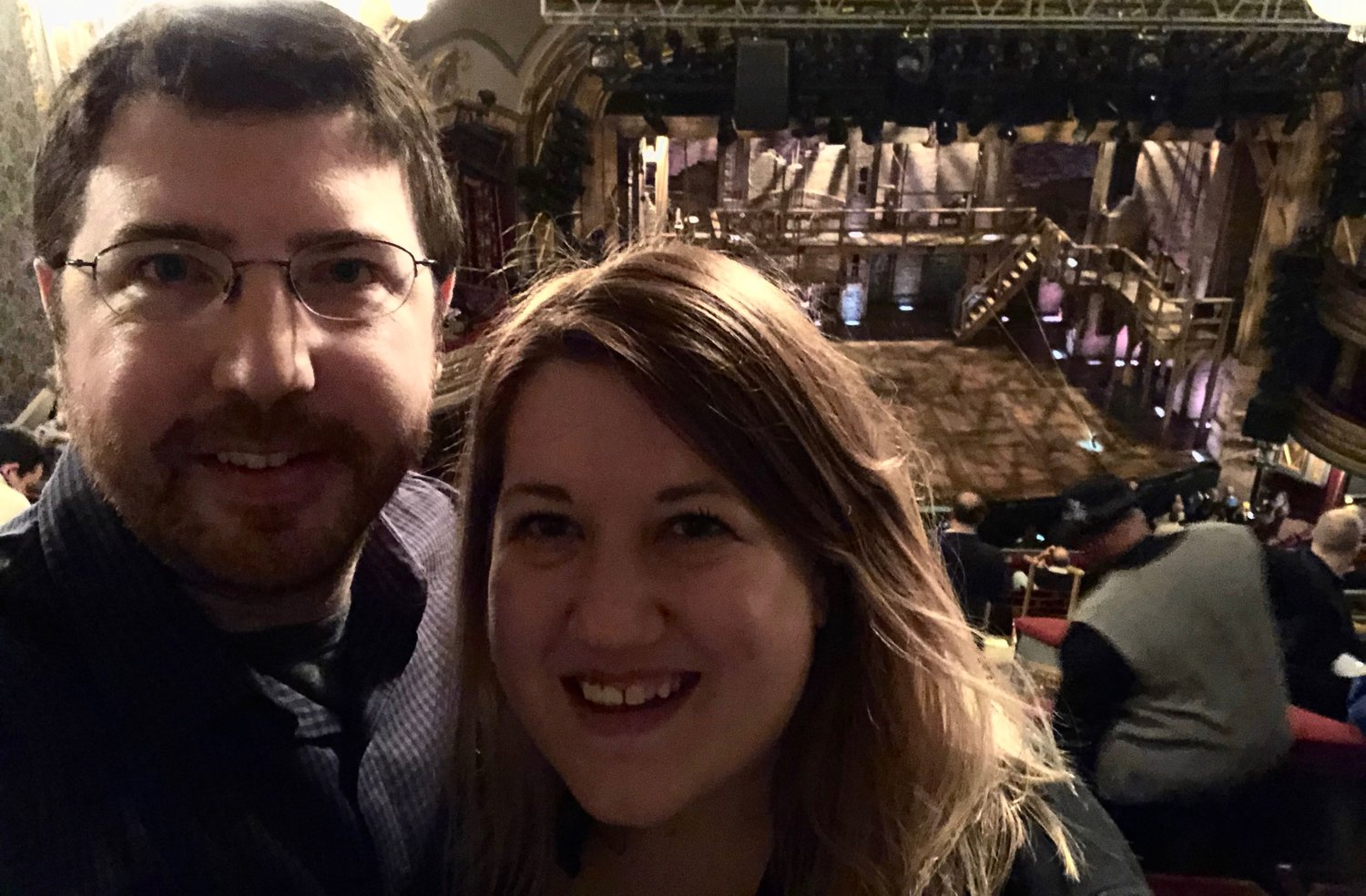 This one has been on our bucket list for a few years...Hamilton!
