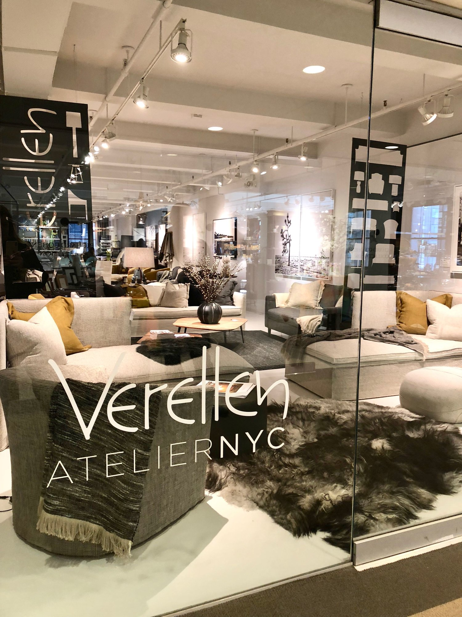 Be still my heart -- Verellen showroom in NY.
