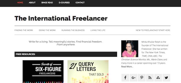 international freelancer