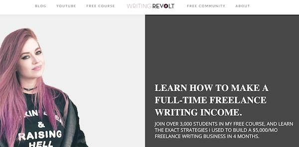 writing revolt