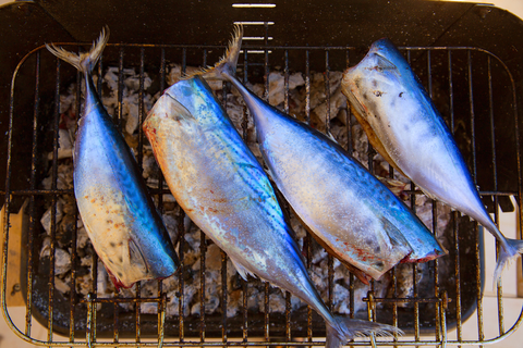 Grilled tuna is a Basque country delicacy.