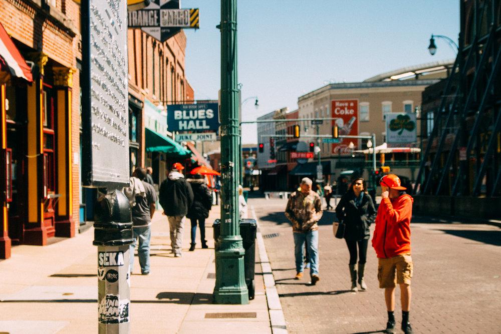 Beale Street.