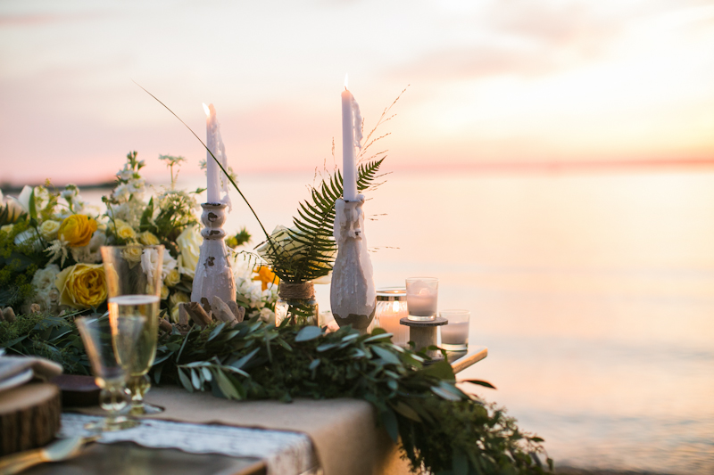 Rustic Coastal Styled Shoot : Chesapeake Bay Beach Club  Emily Chastain Photography