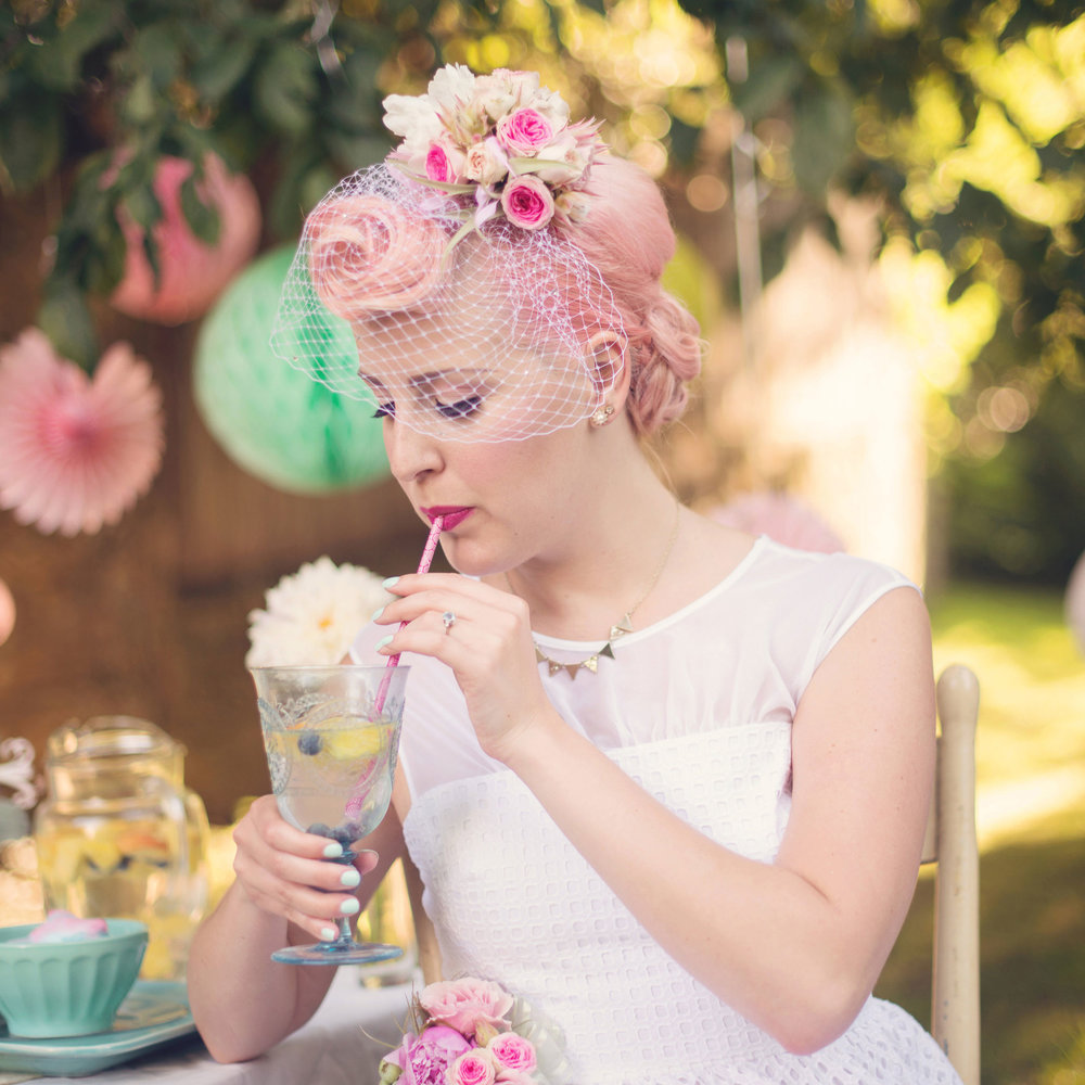 Vintage Retro Styled Shoot : Glen Echo Park  Audra Wrisley Photography