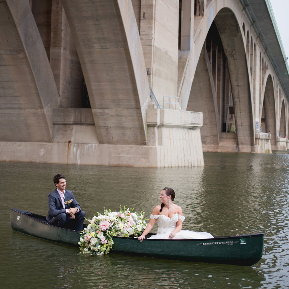 Sunrise DC Canoe Styled Shoot Katy Murray Photography