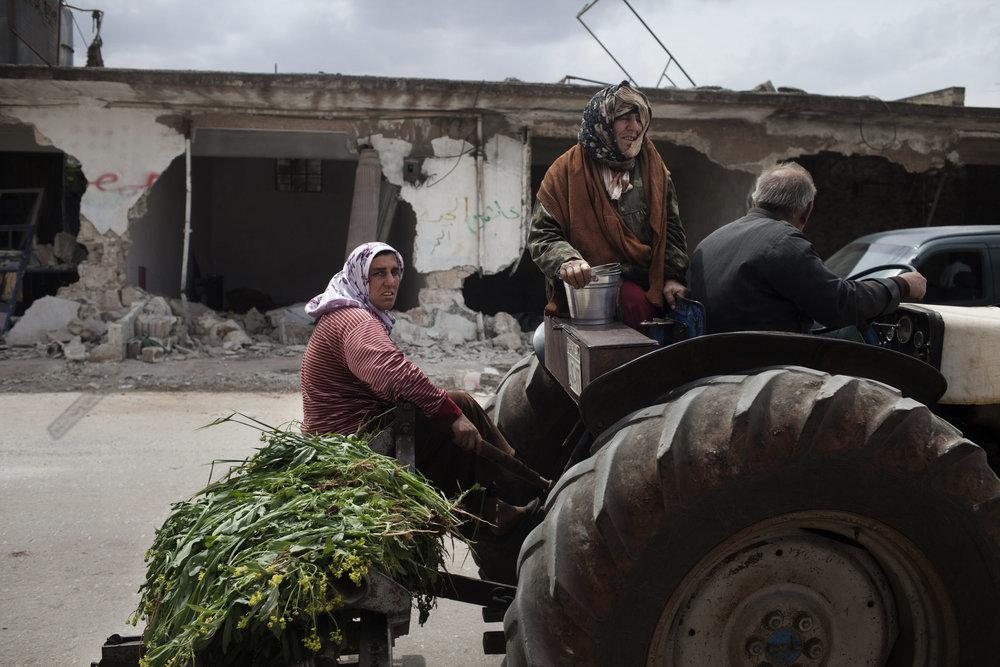 Shellshocked, Kili, Idlib province.