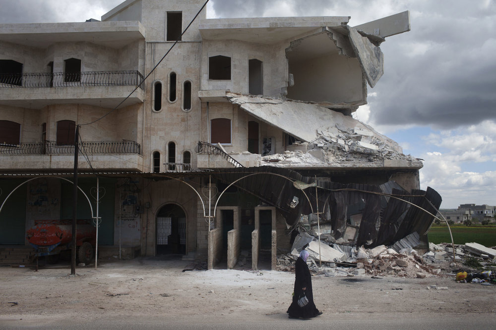 Lonesome destruction, Idlib.