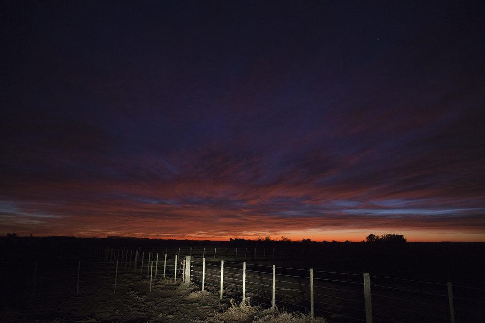 Daybreak, San Antonio de Areco.