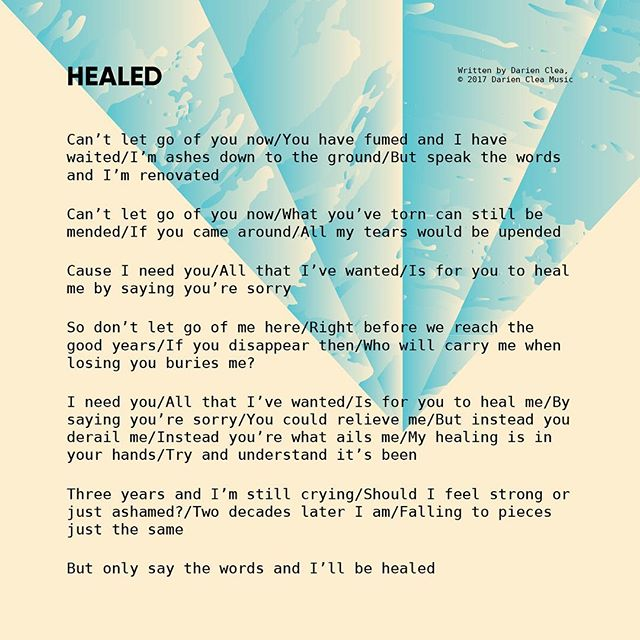 Healed | Lyrics