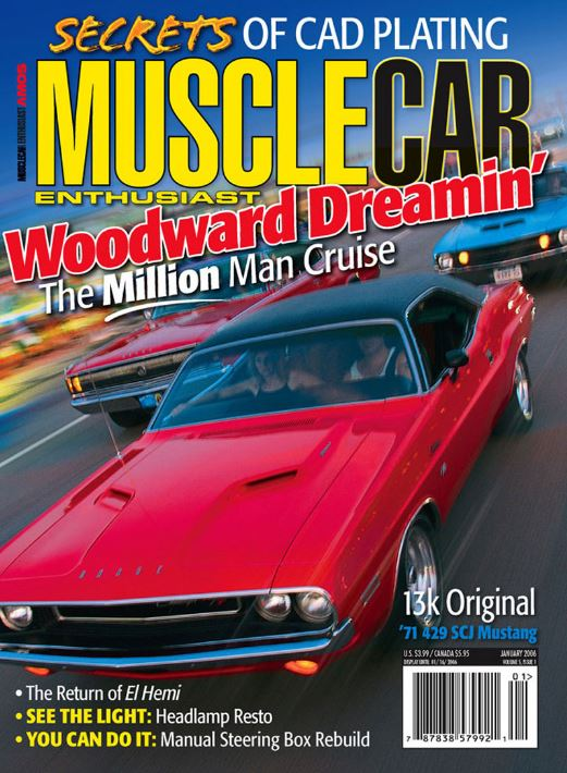 "Tom Shaw, ""Steering Box Spiff Up:   - Get that GM manual steering box back on the straight and narrow.Musclecar Enthusiast, January 2006, Pages 30-33"