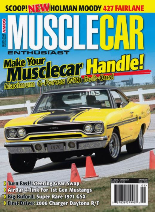 "Tom Shaw,Steer Clear:   - Perfecting the nerve center of your GM (and AMC!) Musclecar's most important system."" Musclecar Enthusiast, August 2005, Pages 36-41"