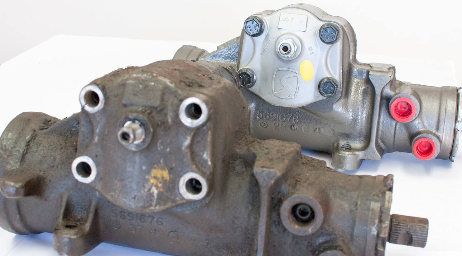 Power Gearbox Rebuilds How To Replace Steering Hose On Chevy Silverado Before After Saginaw