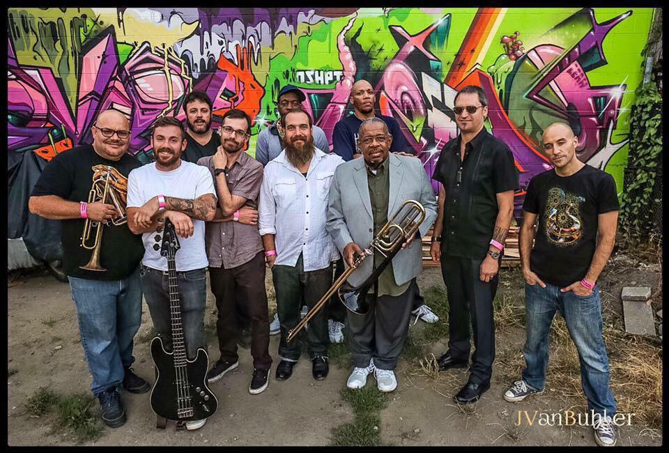 Object Heavy with special guest Fred Wesley, Farnell Newton, Skerik, Christopher Boa and Raashan Ahmad