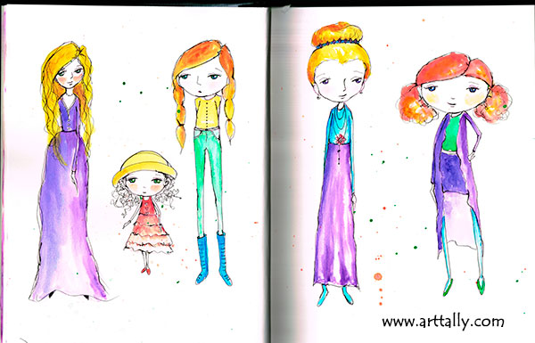 Creative girls with Danielle Donaldson