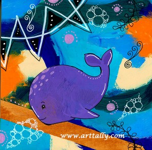 Whale poems arttally