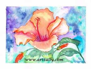 Watercolour-flowers-no-10-w-arttally