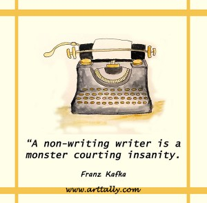 a warning for writers