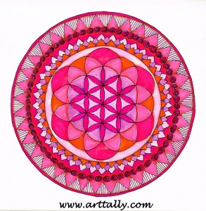 mandala no 12 arttally